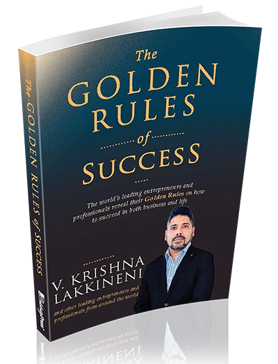 V. Krishna Lakkineni - Author in The Golden Rules of Success